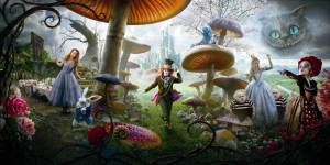 Alice-in-Wonderland-tim-burton-poster