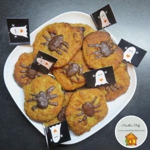 Halloween cookies di mandorle